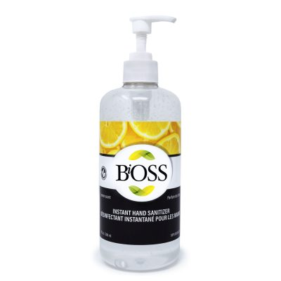 BiOSS Hand Sanitizer 500 ml - Lemon