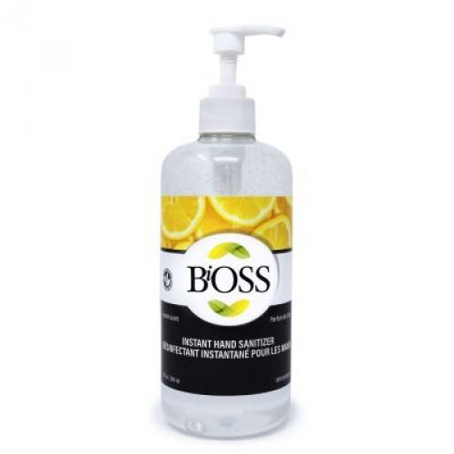 BiOSS Antiseptique pour les mains 500 ml - Citron