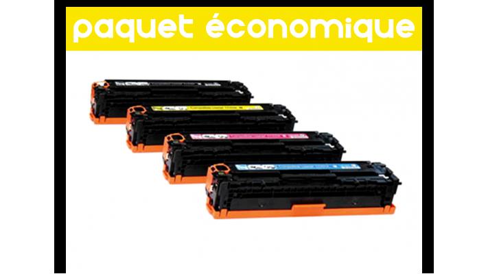 HP CE410X/HPCE411A-412A-413A Multipack Compatible