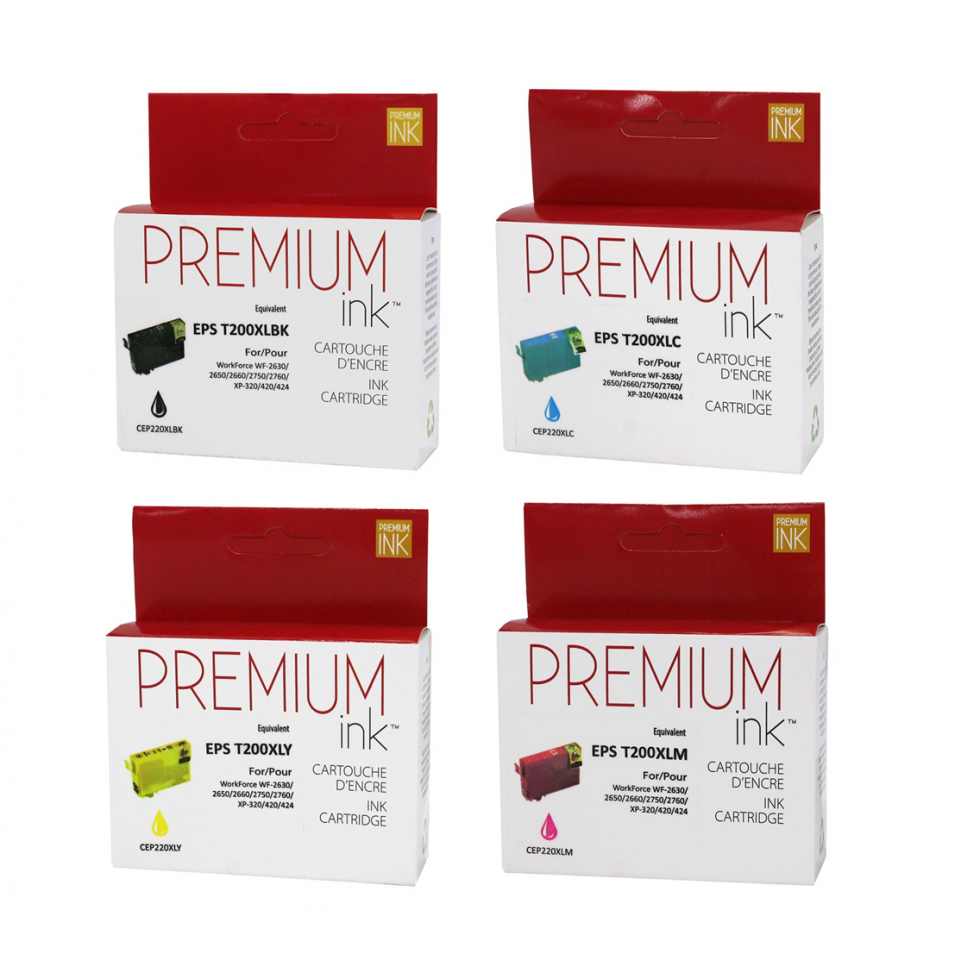 Multipack Epson T220XL compatible Premium Ink