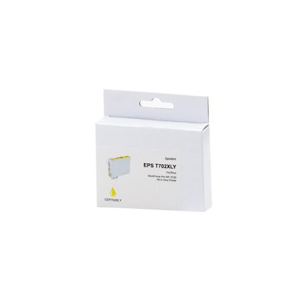 Epson T702XL Compatible Jaune 950 pages