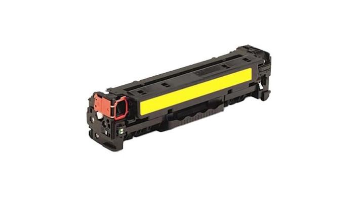 HP CF412A jaune recyclé
