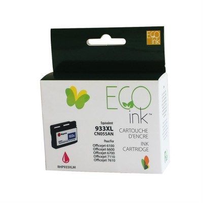 HP 933XL magenta reman. EcoInk