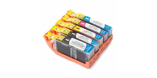 Multi-pack Canon compatible PGI-250XL/CLI-251XL (5pack)