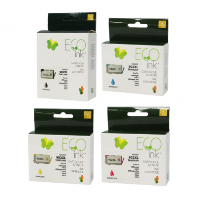 Multipack HP 902XL recyclé Ecoink