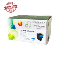 Lexmark 71B1HC0 Reman Ecotone Cyan 3.5K