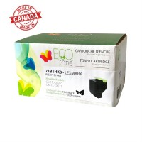 Lexmark 71B1HK0 Reman Ecotone Black 6K