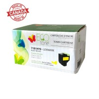 Lexmark 71B10Y0 Reman Ecotone Yellow 3.5k