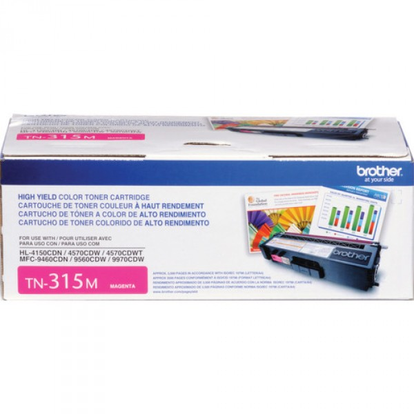 Brother cartouche de toner TN-315 Magenta original- haut rendement