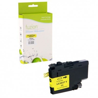 Brother LC-3037 jaune compatible Fuzion