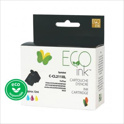 Canon CL-211 XL Couleur Recyclé EcoInk