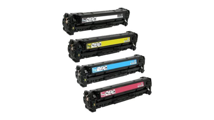 HP 201X compatible 4pack (BK/C/M/Y) haut rendement