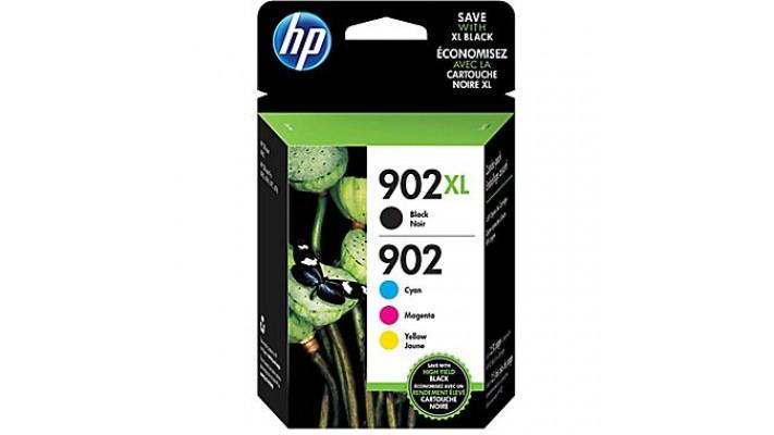 HP 902XL/902 noir et couleurs combiné
