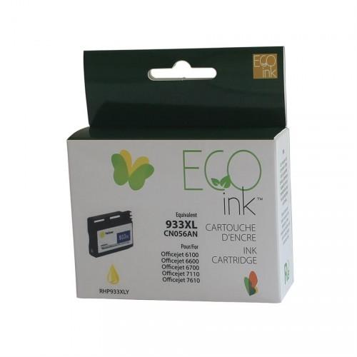 HP 933XL jaune reman. EcoInk