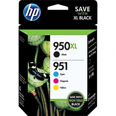 HP 950XL/HP951 Combo OEM noir et couleur