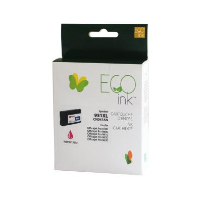 HP 951XL magenta recyclée Éco ink
