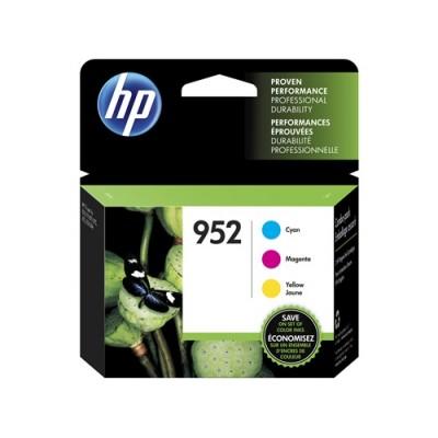HP 952 combopack (cyan, jaune, magenta) originale
