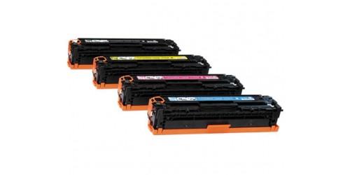 HP CE410X/HPCE411A-412A-413A 4pack remanufactured