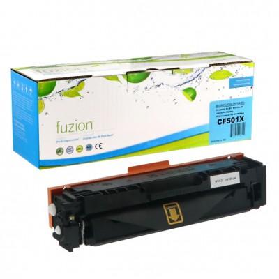 HP 202X CF501X Cyan compatible Fuzion