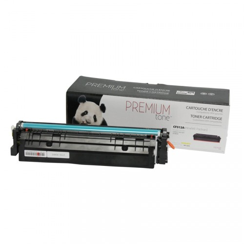 HP CF512A (204A) Compatible Premium Tone Jaune 900 pages