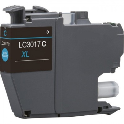 Brother LC-3017 cyan compatible