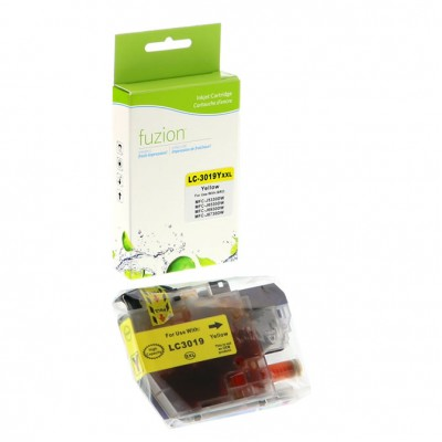 Brother LC-3019 jaune compatible Fuzion