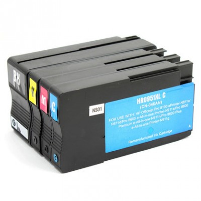 HP 950XL/951XL recyclé (multi-pack)