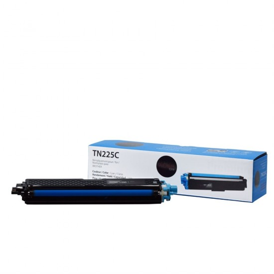 Brother TN-225 Cyan compatible