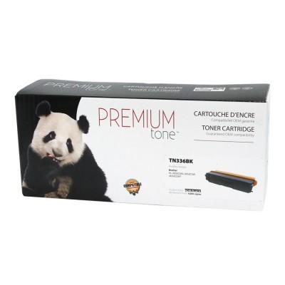 Brother TN-336 Noir compatible Premium Tone